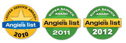 angie list winner - garage doors